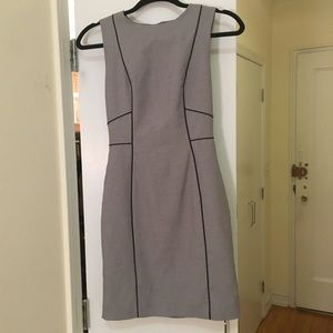Gray work dress